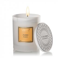 Bougie parfumée 180g ambre - COLLINES DE PROVENCE