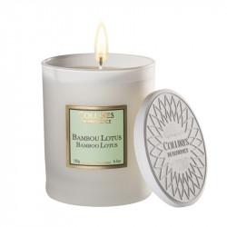 Bougie parfumée 180g bambou lotus - COLLINES DE PROVENCE