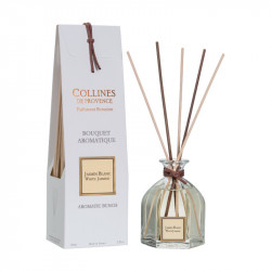 Bouquet aromatique 100ml jasmin blanc - COLLINES DE PROVENCE