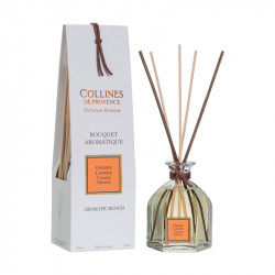 Bouquet aromatique 100ml orange confite - COLLINES DE PROVENCE