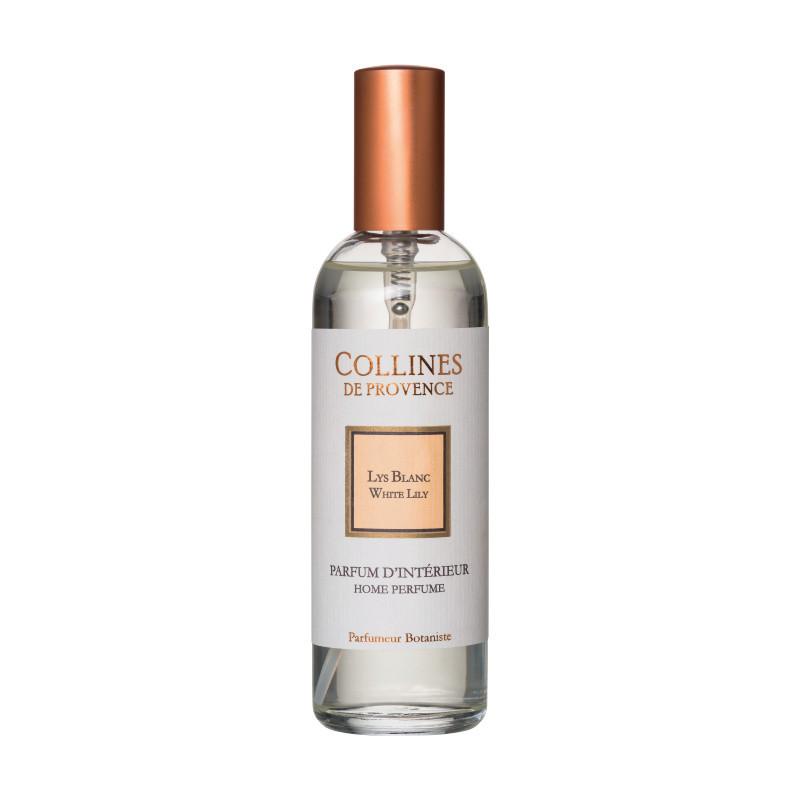 Parfum d'intérieur 100ml lys blanc - COLLINES DE PROVENCE ...