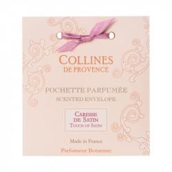 Pochette parfumée caresse de satin - COLLINES DE PROVENCE