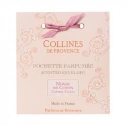 Pochette parfumée nuage de coton - COLLINES DE PROVENCE