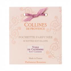 Pochette parfumée voile de cachemire - COLLINES DE PROVENCE