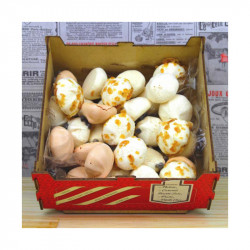 Assortiment mini meringues bte 160g - LA FABRIQUE À BISCUITS HONFLEUR