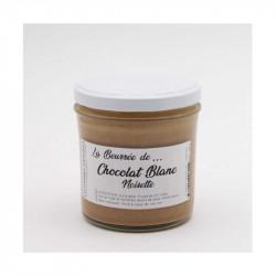 La beurrée chocolat blanc noisette 300g - LA FABRIQUE À BISCUITS HONFLEUR