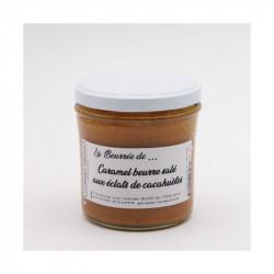 La beurrée caramel aux éclats de cacahuète 320g - LA FABRIQUE À BISCUITS HONFLEUR