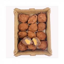Truffes noires beurre de Calvados bte 200g - LA FABRIQUE À BISCUITS HONFLEUR