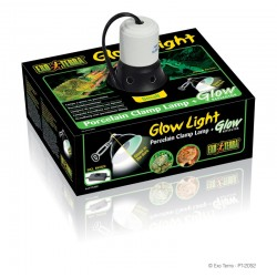 Glow Light - lampe à pince Exo Terra - 14cm