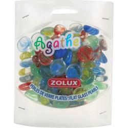 Perle verre plate agathe pm - ZOLUX