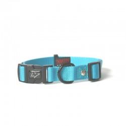 Collier pour chien réglable nylon New Blue TS - 30-45cm