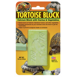 Bloc Zmed tortue calcium/legumes bb-55e - ZOOMED