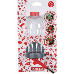 Biberon color top rouge 250 ml - ZOLUX