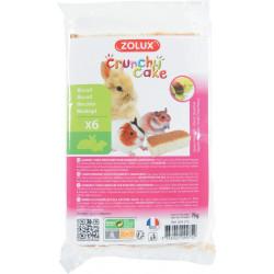 Crunchy cake noisette x6 - ZOLUX