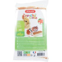 Crunchy cake carotte x6 - ZOLUX