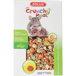 Aliment crunchy meal rat souris zolux 800g - ZOLUX
