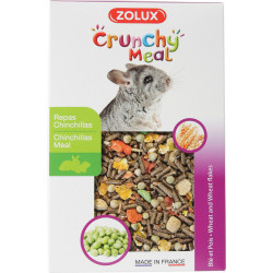 Aliment crunchy meal chinchilla zolux 800g - ZOLUX