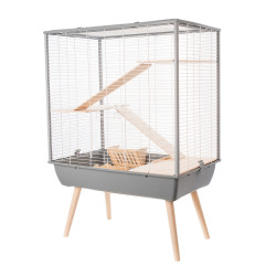 Cage neo cosy gd rg.gris.h80 - ZOLUX