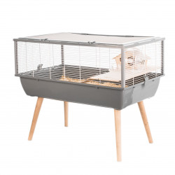 Cage neo nigha pt rg.gris.h36 - ZOLUX