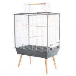 Cage neo jili oiseau gris h80 - ZOLUX