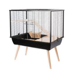 Cage neo muki gd rg.noir.h58 - ZOLUX
