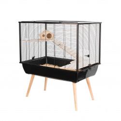Cage neo silta pt rg.noir.h58 - ZOLUX
