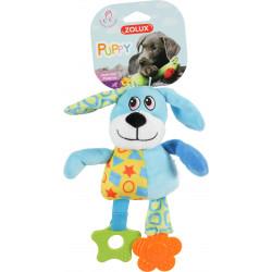Jouet peluche puppy chien bleu - ZOLUX