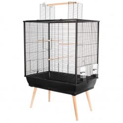 Cage neo jili oiseau noir h80 - ZOLUX