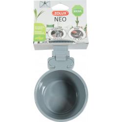 Mangeoire plast neo 300ml gris - ZOLUX