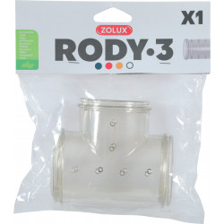 Tube t rody gris transparent - ZOLUX