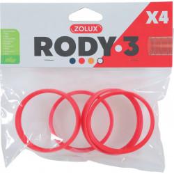 Anneau connection rody3 grenadine - ZOLUX