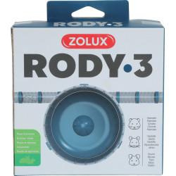 Roue silent rody3 bleu - ZOLUX