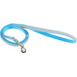 Laisse nylon shiny bleu - ZOLUX