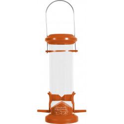 Mangeoire silo 2 perches orange - ZOLUX