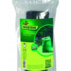 Sacs garden sac x10 150l ldpe vert - NORTENE