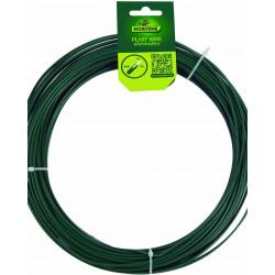 Fil plast wire 3mm 25m fer vert - NORTENE