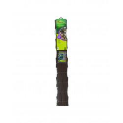 Treillage trelliflex 1x2m PVC brun - NORTENE