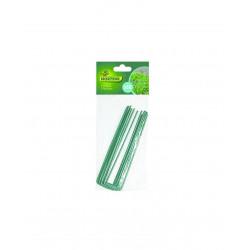 Agrafes fixsol x10 17x3.5cm ac vert - NORTENE