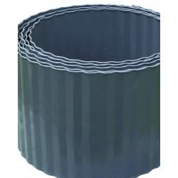 Bordure steely bordura 0.14x6m galva gris - NORTENE
