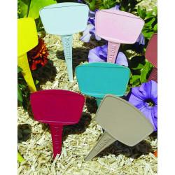 Etiquettes à planter 15cm mix couleurs pastel - NORTENE