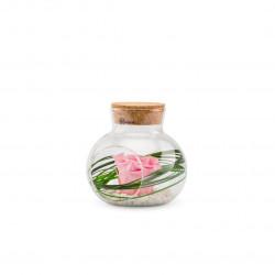 Verrine stab lucca m rose pastel - NATURALYS