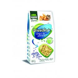 Crunchy's chips pommes lapin hamiform 60g - HAMIFORM