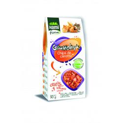 Crunchy's chips carottes cobayes hamiform 90g - HAMIFORM