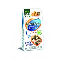 Crunchy's tisane seche&riz souffle lapin hamifor - HAMIFORM