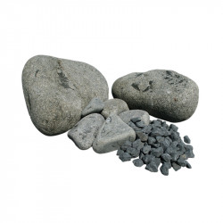 Galets basalte calibre...