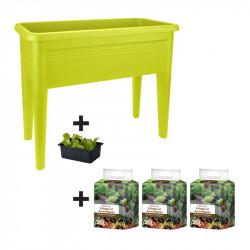Kit carré potager - Vert...