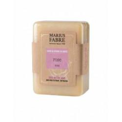 Savonnette 150 g Rose au beurre de karité 1900 - SAVONNERIE MARIUS FABRE
