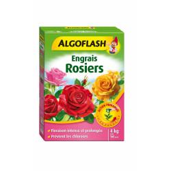 Engrais rosiers action prolongée 4kg - ALGOFLASH