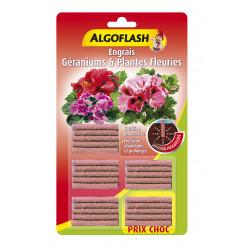 Engrais bâtonnets plantes fleuries x25 - ALGOFLASH