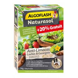 Anti-limaces loches/escargots naturasol 1200g - ALGOFLASH